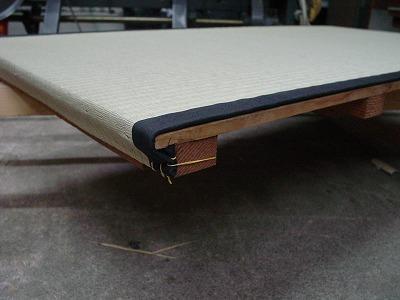 本格的な板床?