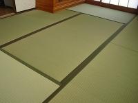 熊本産在来種い草畳表・パーム(ヤシの実繊維)&麻の不織布やわらかあんしん畳�