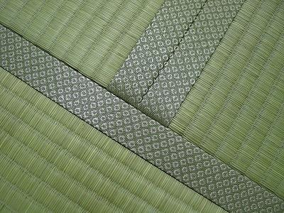 国産(熊本県八代産)無着色無添加基本織り畳表使用の新畳施工例�
