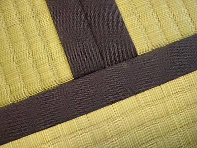 熊本産低農薬無着色無添加天然い草の畳表で替え施工例�