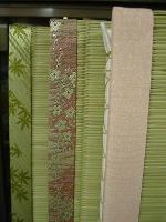 十人十色 畳縁一つで全く違うイメージの畳が!