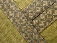 古典柄の畳縁を現代風にアレンジした?畳の施工例�