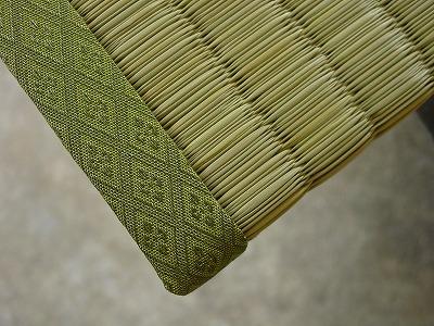 夏畳!極太い草が、足裏に心地いぃ畳の製作。�