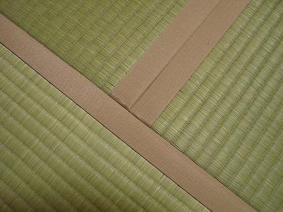 ピンク色の畳縁がステキな畳の施工例?