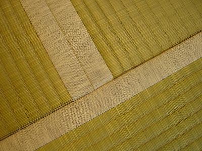 天然ヤシの実繊維と麻の不織布が足に心地いい畳の施工例。?