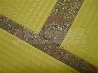 洋間の冷たさ・硬さ・滑りやすさをやわらげるカラー畳表使用の全面畳敷きの新畳施工例�