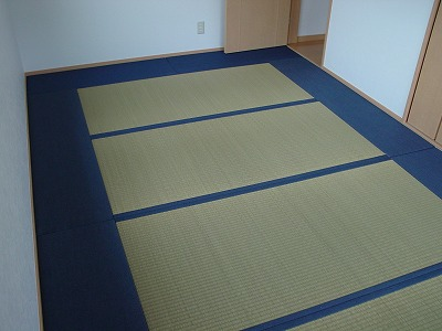 デニム畳とびーぐ畳へり付け7畳半仕様�