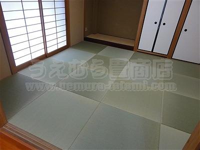 『純和風から和モダンなお部屋に変更のきなり琉球畳施工例です。』関西ウォーカーに掲載されたうえむら畳商店のお仕事?