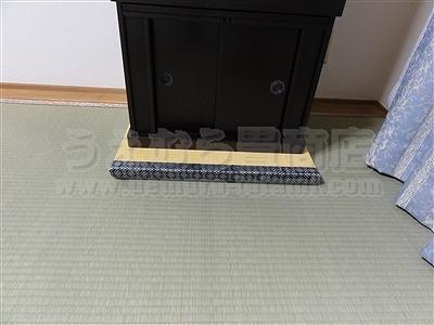 豪華に見せる!仏壇用畳?こんなのも製作承っております。国内産無農薬低農薬特別栽培天然い草畳表専門畳店うえむら畳商店?