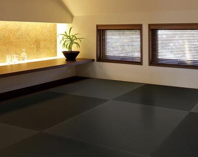『赤(レッド)白(ホワイト)黒(ブラック)その他・・・。カラー琉球畳ご注文承り中です。』カラー縁無し琉球畳取扱店大阪いまどきの畳屋さんうえむら畳商店?