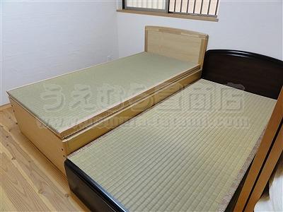 『香りいい森林浴ひのき畳:赤ちゃん用ベッド用畳施工例。』無添加きなり畳 いまどきの畳屋さんうえむら畳商店?