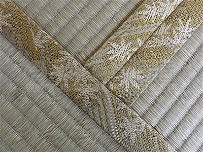 『小粋な畳縁がお部屋を引き立てます。』いまどきの畳屋さんうえむら畳商店?