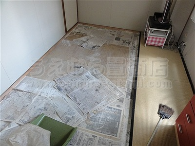 『介護養護用畳縁無し琉球畳一畳サイズカラー畳施工例。』(東大阪市)いまどきの畳屋さんうえむら畳商店?