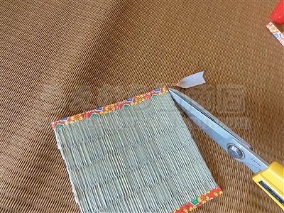 『涼感畳小物で涼しく暮らす・・・。〜い草畳コースターの作り方初級編〜』畳小物販売&畳ショールームのうえむら畳商店?
