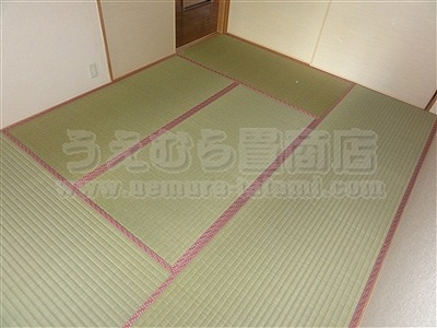 『安心畳きなり畳GOKUBUTO(極太)新畳施工例。』(吹田市)子育て・アレルギー・過敏症・安全・安心きなり畳シリーズうえむら畳商店?