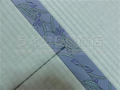 ペットの臭いや汚れにも拭き取れる新素材畳へり付き畳施工例。(四条畷市)ペット用畳うえむら畳5