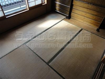 全室きなり畳仕様でい草の香り良く!手触りツヤツヤ!桃色畳縁がステキな縁付き畳施工例。デニム畳(デニムフロアー)正規取扱店?