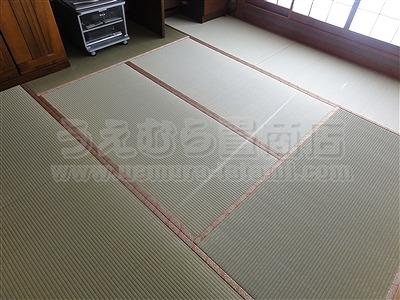 きなり畳シリーズベーシックプラン、エコノミークラスへり付き新畳施工例。安全安心純国産畳専門店うえむら畳商店?