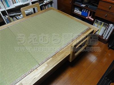 世界に一つ!自分に合わせたオーダーメイド畳ベッド施工例。日本産無添加きなり畳のうえむら畳14