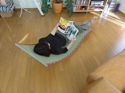 〜ネコロリン(ねころりん)リラックス形状記憶ベッド〜カスタムオーダーネコロリン発売元うえむら畳商店2