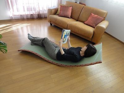 〜ネコロリン(ねころりん)リラックス形状記憶ベッド〜カスタムオーダーネコロリン発売元うえむら畳商店3