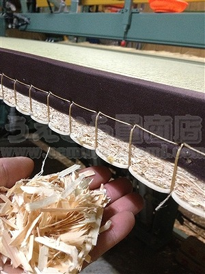 〜ひのき畳の香りがココチイ〜へり付き健康ヒノキ畳施工例(池田市) 天然素材ひのき畳取扱い畳店うえむら畳商店5