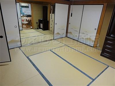 【ペット用畳】わんにゃんペットにも人にもやさしいペット用畳&ふすま施工例(大東市)ダニカビ駆除加熱乾燥機設置畳店2