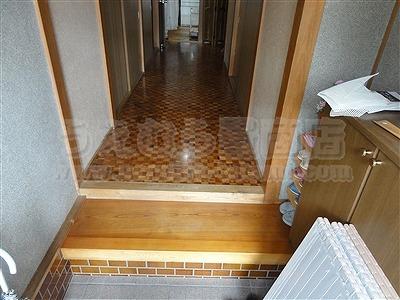 滑らなくて困ったワンニャン!!ペット畳(ペット用畳)カラー畳廊下施工例。(大東市)うえむら畳2