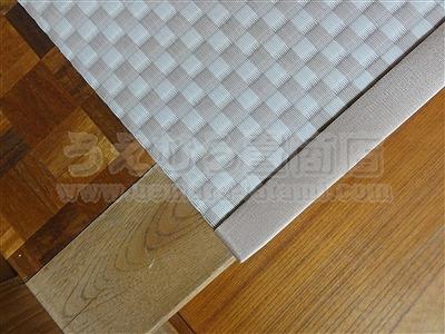 滑らなくて困ったワンニャン!!ペット畳(ペット用畳)カラー畳廊下施工例。(大東市)うえむら畳8
