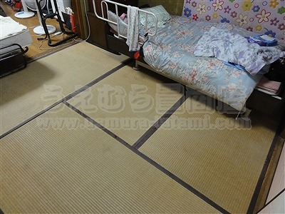 自宅介護にも うえむら畳のやわらかあんしん介護養護畳。(大阪市城東区)大東市の畳屋さんうえむら畳2