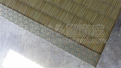 ハウスダスト(埃)やアレルギー体質の方のご家庭に・・・無添加きなり畳シリーズGOKUBUTO(極太)へり付き畳施工事例。家庭用国産畳専門店化学物質低減処理機加熱乾燥機設置店うえむら畳2