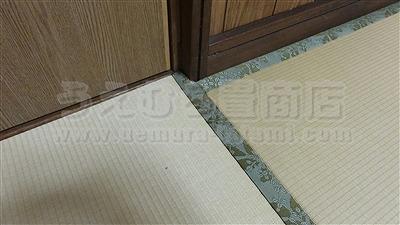 冷える!滑る!硬い!ホコリっぽい!危険な床をカンタン畳で解消!極薄オーダーメイド畳施工事例。(大阪府大東市)フローリング用畳取扱いうえむら畳商店9