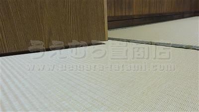 冷える!滑る!硬い!ホコリっぽい!危険な床をカンタン畳で解消!極薄オーダーメイド畳施工事例。(大阪府大東市)フローリング用畳取扱いうえむら畳商店10