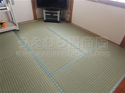 極太無添加い草のココチイイ、きなり畳シリーズ施工事例。(大東市)大阪府大東市のいまどきの畳屋さんうえむら畳1