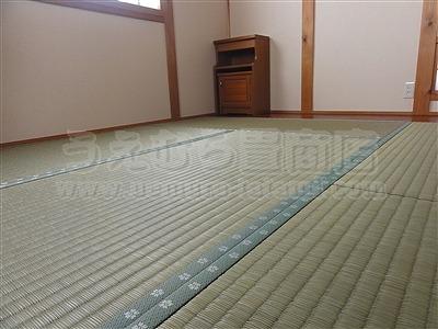 極太無添加い草のココチイイ、きなり畳シリーズ施工事例。(大東市)大阪府大東市のいまどきの畳屋さんうえむら畳5