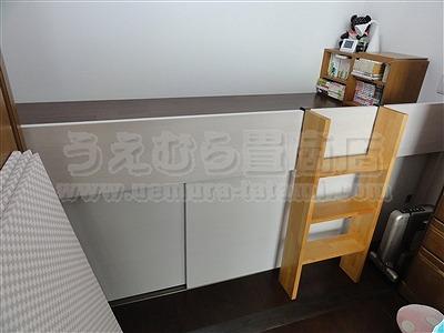 桃色(モモイロ)気分な・・・畳ベッドへ。。。大阪府大東市の家庭用国産畳専門店うえむら畳畳ベッド施工事例1
