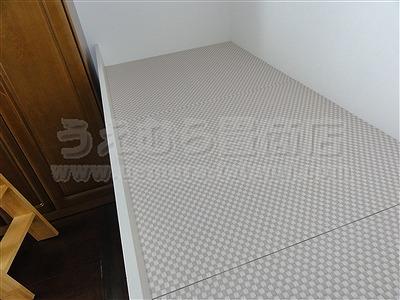 桃色(モモイロ)気分な・・・畳ベッドへ。。。大阪府大東市の家庭用国産畳専門店うえむら畳畳ベッド施工事例5