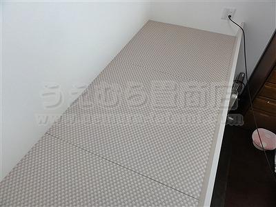 桃色(モモイロ)気分な・・・畳ベッドへ。。。大阪府大東市の家庭用国産畳専門店うえむら畳畳ベッド施工事例6