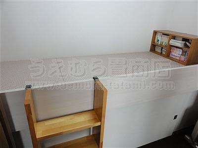 桃色(モモイロ)気分な・・・畳ベッドへ。。。大阪府大東市の家庭用国産畳専門店うえむら畳畳ベッド施工事例7