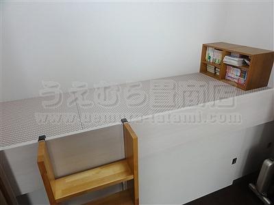 桃色(モモイロ)気分な・・・畳ベッドへ。。。大阪府大東市の家庭用国産畳専門店うえむら畳畳ベッド施工事例9