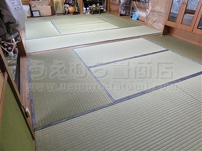 〇〇心地が違う・・・。きなり畳シリーズ・極太(GOKUBUTO)スタイルに模様替え・・・。大阪大東市家庭用国産畳専門店うえむら畳3