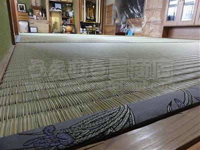 〇〇心地が違う・・・。きなり畳シリーズ・極太(GOKUBUTO)スタイルに模様替え・・・。大阪大東市家庭用国産畳専門店うえむら畳4