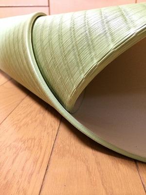厚さ6ミリの誘惑・・・。フローリングからノンスリップスーパーソフト極薄縁無し琉球畳で解消・・・施工事例。11