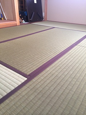 あたらしい生命に母なる想いを込めて・・・。(ひのき畳施工事例堺市)大阪府大東市のイマドキの畳屋さんうえむら畳1