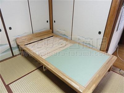 人生の三分の一の至福(カスタマイズオーダーメイド畳ベッド)家庭用国産畳専門店いまどきの畳屋さんうえむら畳2