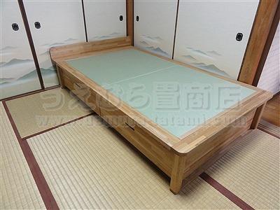 人生の三分の一の至福(カスタマイズオーダーメイド畳ベッド)家庭用国産畳専門店いまどきの畳屋さんうえむら畳4