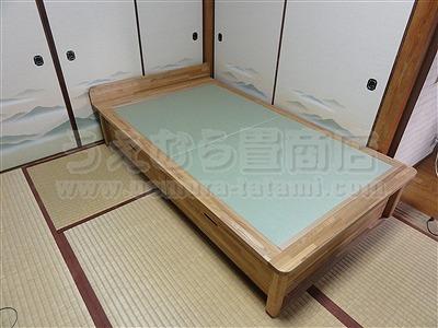 人生の三分の一の至福(カスタマイズオーダーメイド畳ベッド)家庭用国産畳専門店いまどきの畳屋さんうえむら畳5