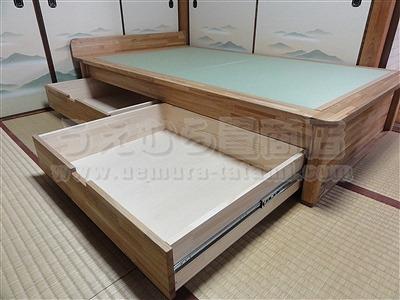 人生の三分の一の至福(カスタマイズオーダーメイド畳ベッド)家庭用国産畳専門店いまどきの畳屋さんうえむら畳7