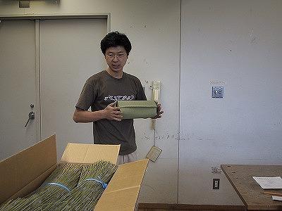 【畳の小物製作体験学習〜いぐさ枕編〜】畳の材料を利用して素敵な小物作り001