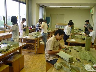 【畳の小物製作体験学習〜いぐさ枕編〜】畳の材料を利用して素敵な小物作り23